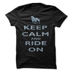 Keep Calm and Ride On Horseback Riding by frogcreek - #tshirt illustration #black sweatshirt. GET IT => https://www.sunfrog.com/Valentines/Keep-Calm-and-Ride-On-Horseback-Riding-by-frogcreek-87155804-Guys.html?68278