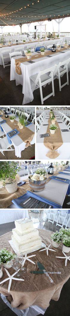 Earth Tone Beach Wedding.