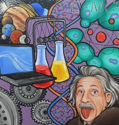 science mural | Posted by Lori-Lee Thomas at 10:43 PM 3 comments: