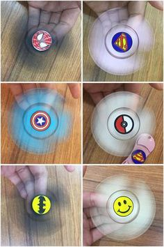 Marvel Alloy Hand Spinner Batman, Captain America, Supermand, Emoji, Pokemon, Spidermand Fidget Spinner.