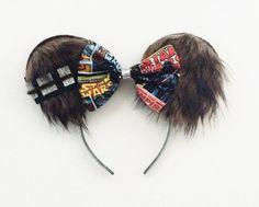 Star Wars Chewbacca Ears Star Wars Disney by ToNeverNeverland