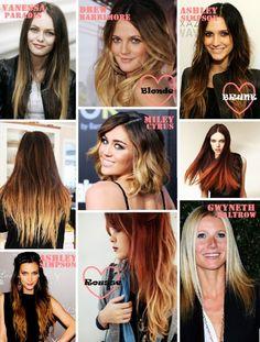 Ombré, bicolore, dip dye : Comment avoir des cheveux de feu pour l'été 2012 – lesfashionbiches.com