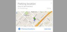 ¿Dónde he dejado aparcado mi coche? Tranquilo, Google Now te refresca la memoria