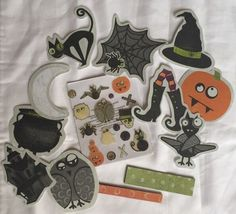 Creative Memories Frightful Halloween Embellishments #CreativeMemories