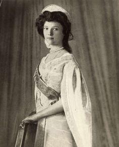 Dochter Tatjana geboren op 29 mei 1897