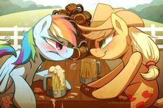 lol rainbow dash is drunk!
