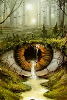 Eye Artwork Surrealism Paintings 47 Ideas For 2019 Fantasy Landscape, Fantasy Art, Illusion Kunst, Eyes Artwork, Crazy Eyes, Surrealism Painting, Eye Art, Surreal Art, Cool Eyes