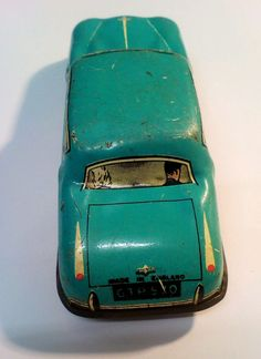 Lovely Vintage Tin Plate Friction Toy car made in england Toys Uk, Car Makes, Tin Toys, Classic Toys, Wales, Plate, England, History, How To Make