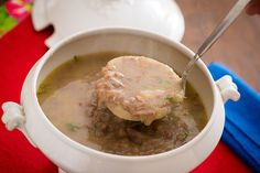 Deliciosa para os dias frios, esta sopa é sempre bem vinda!
