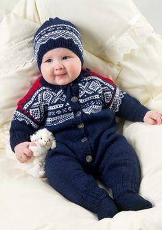Tema Modell 8 Marius dress i sisu Baby Sweater Knitting Pattern, Baby Knitting Patterns, Baby Patterns, Baby Snacks, Baby Barn, Knitted Baby Clothes, Porno, Knitting For Kids, Kids Prints