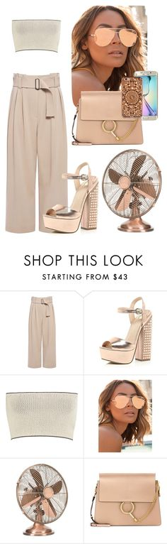"""moon"" by annabidel ❤ liked on Polyvore featuring A.L.C., River Island, Calvin Klein Collection, Quay, Samsung, Chloé and Felony Case"