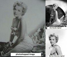 Fake Marilyn/Kim Novak