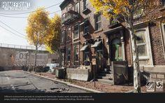 ArtStation - Homefront: The Revolution, Fran G Castiglioni