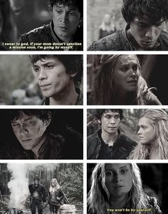 The 100 - Bellamy and Clarke #2.6 #Season2