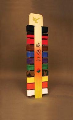 Martial Arts Belt Racks, Taekwondo Karate Belt Displays - Jeja