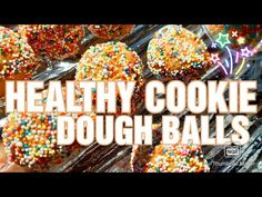 HOW TO MAKE HEALTHY COOKIE DOUGH BITES Healthy Cookie Dough, Healthy Cookies, How To Make Oats, Oat Flour, The Creator, Baking, Breakfast, Desserts, Food