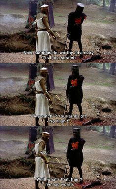 Monty Python and The Holy Grail---try to work this theme into VBS! :)
