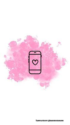 Instagram Blog, Pink Instagram, Instagram Prints, Story Instagram, Emoji Wallpaper Iphone, Wallpaper Backgrounds, Tumblr Outline, Pink Background Images, Iphone Icon