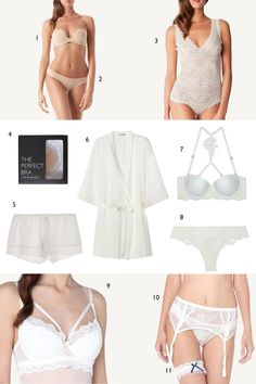 Bridal Lingerie for the Wedding Day #ad