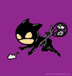 les jobs a mi temps des super heros catwoman deratisation   Les jobs à mi temps des super héros   wolverine travail thor super héro spiderma...