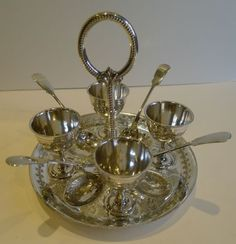 Antique-English-Silver-Plated-Egg-Cruet-For-4-c-1890