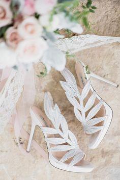 Vintage Inspired Bridal Shoes
