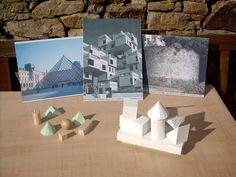 Des volumes différents dans les constructions
