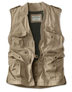 Alion Mens Vintage Work Utility Vest Military 4 Pockets Photo Safari Travel Vest