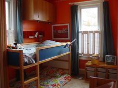 Nicholas's Orange Slice Bedroom Small Kids, Big Color Entry #34 | Apartment Therapy