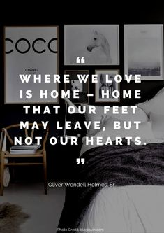 How much do you love your home? We've pulled together the 36 most beautiful quotes about the home that we could find. From Walt Disney to Benjamin Franklin, you are bound to leave this post thinking about your home in a different way. Missing Home Quotes, Leaving Home Quotes, Quotes About Moving On, Quotes About Home, Coming Home Quotes, Home Decor Quotes, Home Quotes And Sayings, Quotes To Live By, Life Quotes