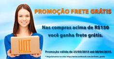 Mi interessa: PROMOÇÃO FRETE GRÁTIS UNT SKINCARE BRASIL