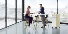 Delta by Bene - Mobilier de bureau Bene Table Frame, Office Furniture, Modern Design, Desk, Powder, Warm, Steel, Home Decor, Natural