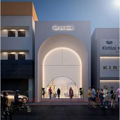 Award Winning architects - Checkout our latest projects and other works Commercial Architecture, Classical Architecture, Futuristic Architecture, Facade Architecture, Entrance Design, Facade Design, Exterior Design, Retail Facade, Shop Facade