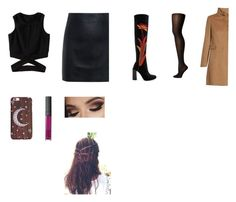 """""""Sin título #8510"""" by cristinam26 ❤ liked on Polyvore featuring McQ by Alexander McQueen, Jeffrey Campbell, Wolford and MaxMara"""