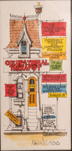 1988 Roger Mason Studios Occupational Therapy by Americandecay, $45.00