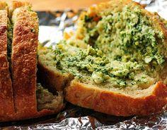 Sarımsak Ve Enginarlı Beyaz Peynirli Ekmek