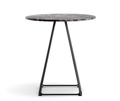 Lunar is a table that enhances the architecture of the space where the table is…