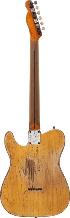 Danny Gatton's 1953 Fender Telecaster Blonde Solid Body | Lot #85127 | Heritage Auctions entertainment.ha.com/
