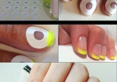 DIY Paint Nails.                                                     How to Do French Manicure Easily