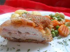 Chefkoch.de Rezept: Cordon bleu von der Pute mit Kräuterfrischkäse