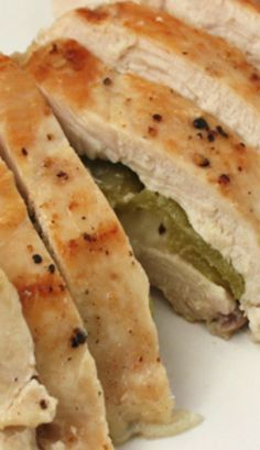 Green Chile and Pepper Jack Stuffed Chicken