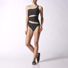 16a141c66 adidas - Kostium kąpielowy Asymmetric Designer Sportswear, Stella Mccartney  Adidas, Swimwear, Swimsuits,