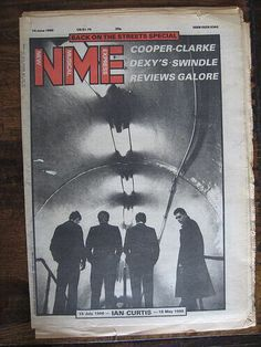 NME front page