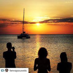 #Repost @fennapouwels  Met Teun en @narunn3 genieten van de mooie zonsondergang in Malawi!  by worldmapping