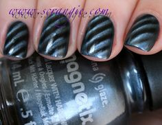 China Glaze is coming out with magnetic polish now...with more magnet options than Nails, Inc! Exciting!