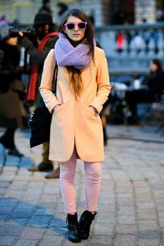 #WinterPastels #StreetStyle #AW13