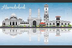#Ahmedabad #Skyline by Igor Sorokin on @creativemarket