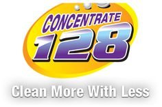 Free Sample of Concentrated 128 Cleaning Solution