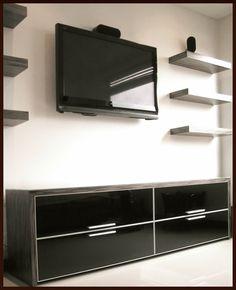 Acabados & Formas Flat Screen, Electronics, Libraries, Shapes, Wood, Home, Blood Plasma, Flatscreen, Dish Display