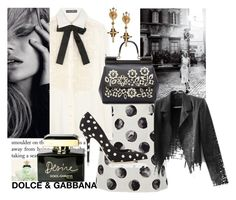 """""""D is for DOLCE & GABBANA"""" by obsessedaboutstyle on Polyvore featuring Dolce&Gabbana"""